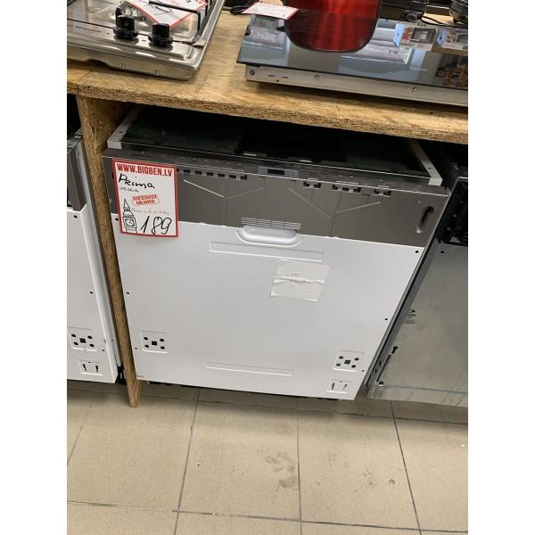 Built in dish washer Prima - LPR661A A+ (Graded)