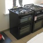 Gas cooker Zanussi ZCK66350BA (Graded)
