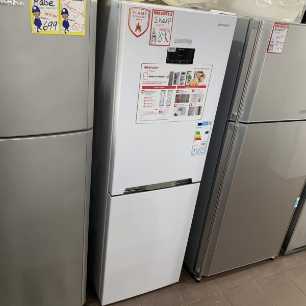 Fridge Freezer Sharp SJ-BA33IHXW2