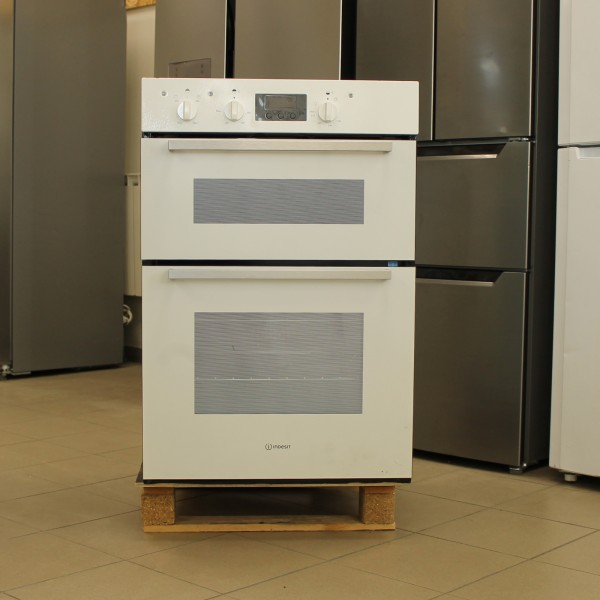 Double oven Indesit Aria IDD6340WH (Graded)