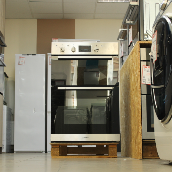 Double oven Indesit Aria IDD6340IX (Graded)