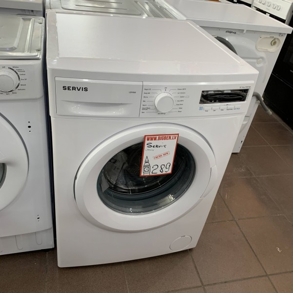 Washing machine Servis L914W A++ 9kg 1400rpm